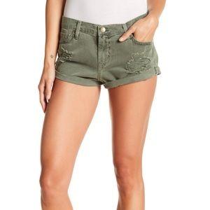 Pistola Distressed Cuff Shorts